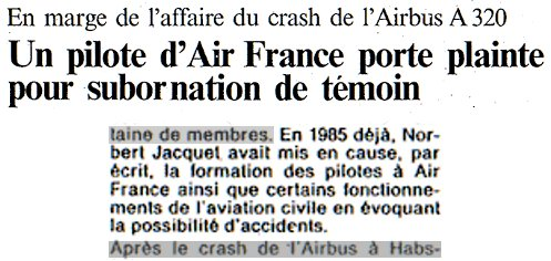 L'Alsace, 16 novembre 1988