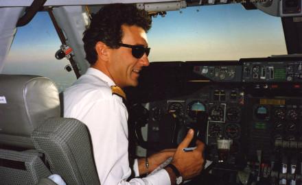 Image : en vol, Boeing 747 (en 1988)