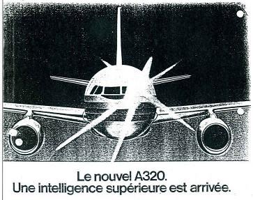Image : Aerospatiale/Airbus : publicité des années quatre-vingt