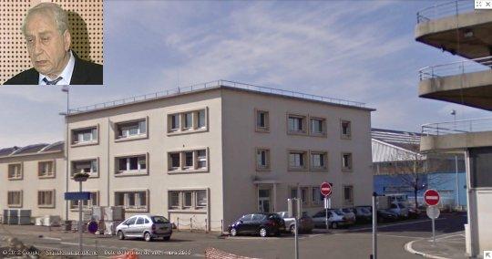 Le chef Arslanian et son immeuble