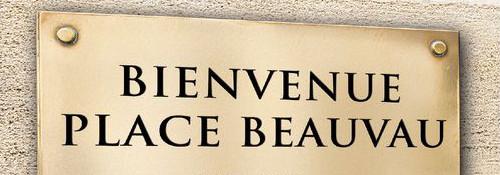Image : livre Bienvenue Place Beauvau
