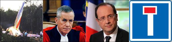 Image crash Habsheim, procureur Molins, François Hollande, impasse