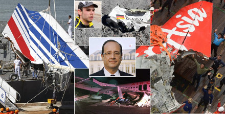 image : Hollande, crashs aériens