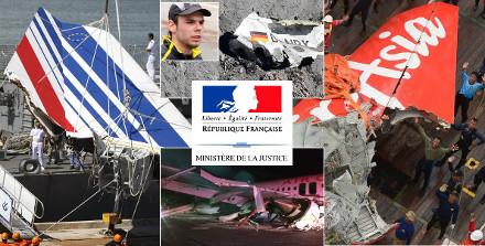 Image : justice et crashs aériens