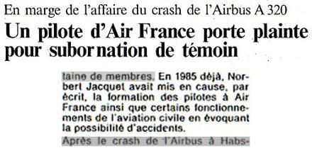 Image : quotidien L'Alsace, 16 novembre 1988