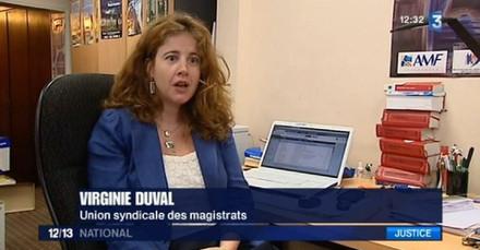 Image Virginie Duval, présidente de l'Union syndicale des magistrats